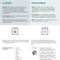 Allergie e intolleranze