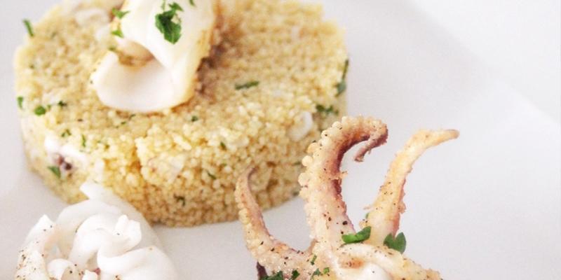 Cous cous con calamaro [Ricetta]