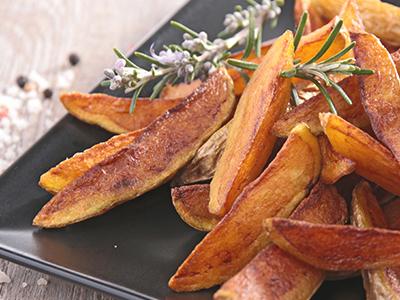 Patatine fritte acrilammide