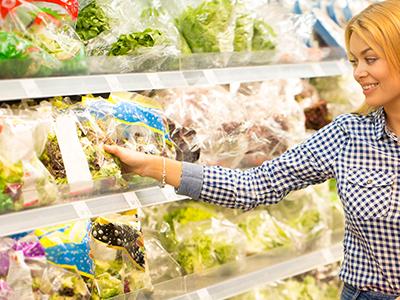 Comprare insalata in busta