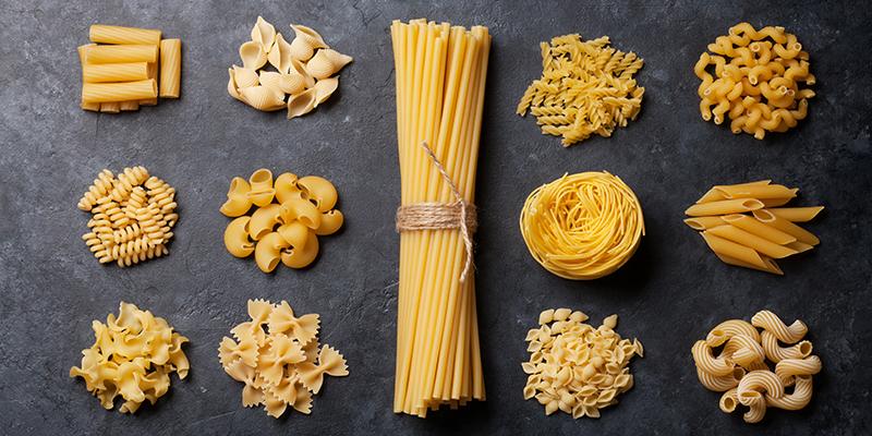 C'è pasta per te! Tipi di pasta e rischi alimentari