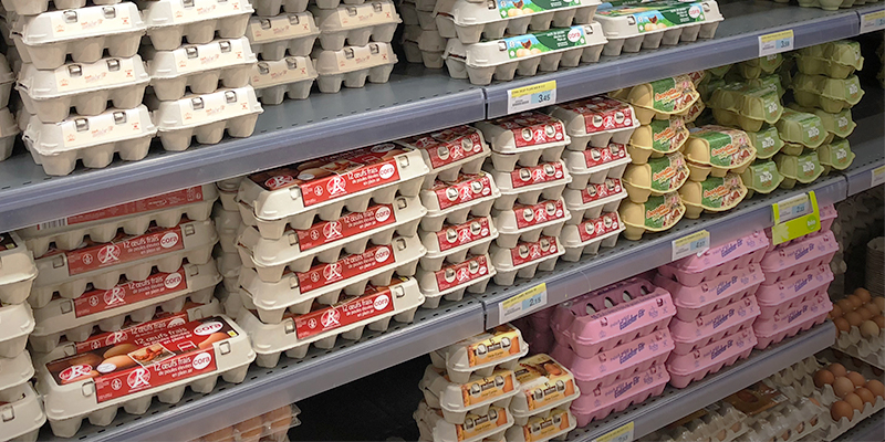 Le uova vanno conservate in frigo oppure no?