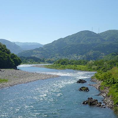 fiume Jinzu Giappone