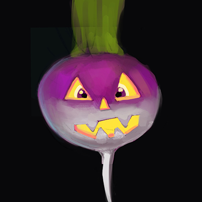 Lanterna halloween rapa